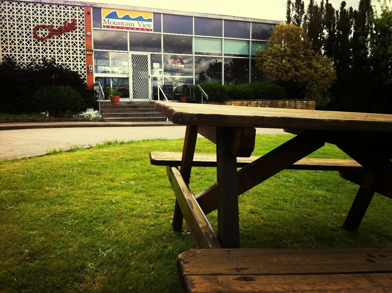 Now you can enjoy having coffee out side:)