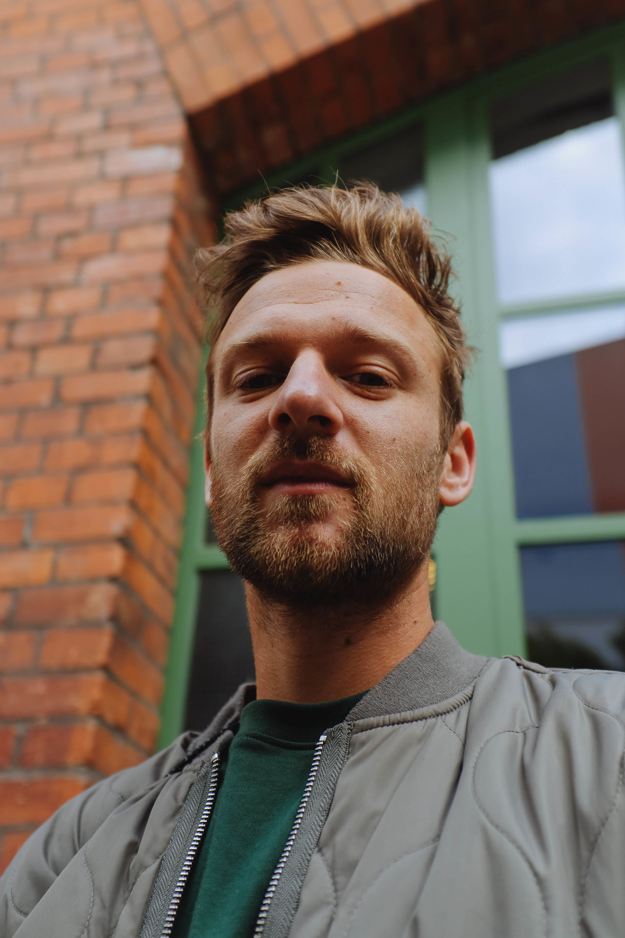 Architecture Beard Brick Wall Close-up Day Headshot One Person Outdoors People Portrait Real People Young Adult