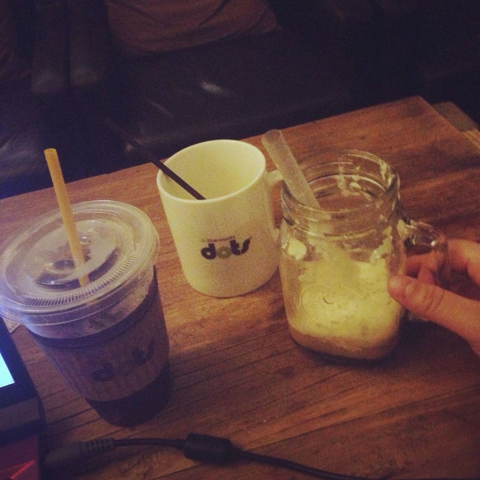 Better Together 😳dots☕️ >☝️One person 🙍>Very boring😔💔 First Eyeem Photo