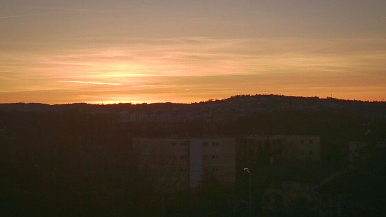 Good Morning Stuttgart City On The Way To Work Sunrise The Summer Is Coming  Startyourdayright