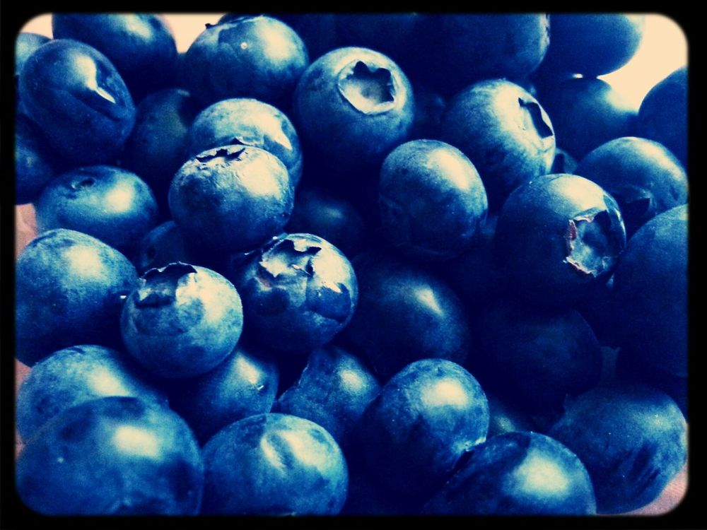Blueberries Arandanos Lunchtime Delicious Fruit