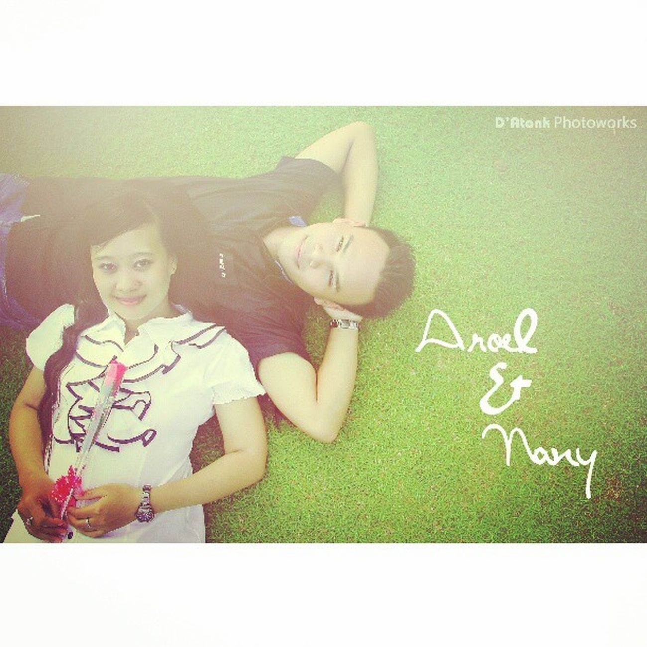 Aroel & Nany Couple Preweed Instatanjungtabalong Instabanjar Photoshoot