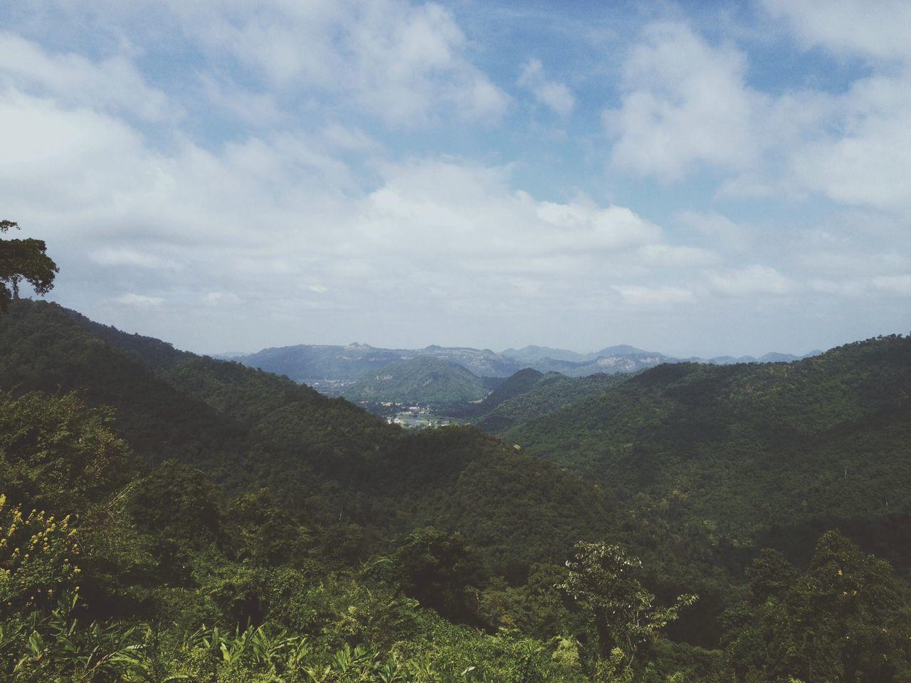 Thailand Mountains High Green