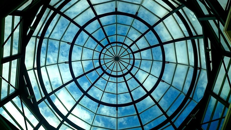 Built Structure Geometric Shape Full Frame Sky Day Indoors  Architecture Pattern Concentric Backgrounds No People Close-up The Architect - 2017 EyeEm Awards Dramatic Sky Dramatic Urbexphotography Urban Urbex