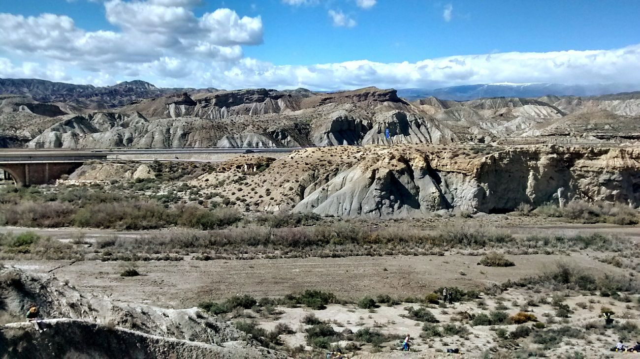 Geology SPAIN Almería Desert Rocks Sky And Clouds Blue Sky Landscape EyeEm Best Shots Eye4photography