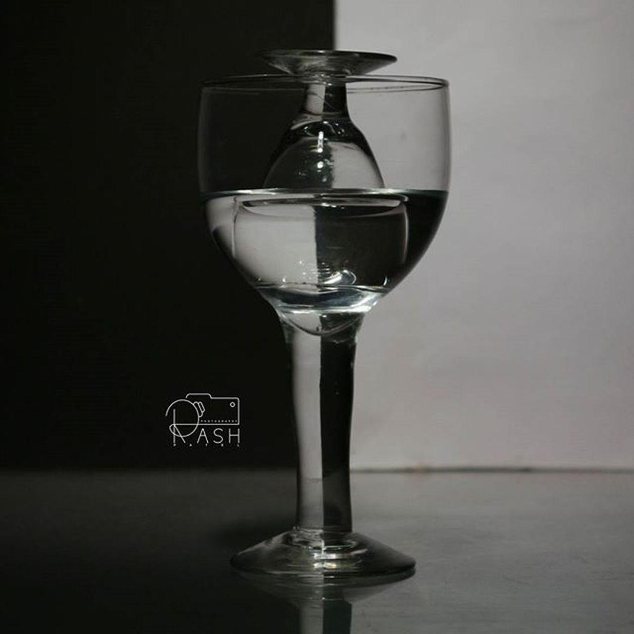Glass Creativity Black White Glassinsideglass Nofilter Oneofmahfav😄