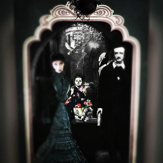 Nevermore Edgarallanpoe Poe Victorian Death Darkart Collage Digitalart  Conceptualart Conceptualphotoedits Photomanipulation Digitaledit Editjunkie