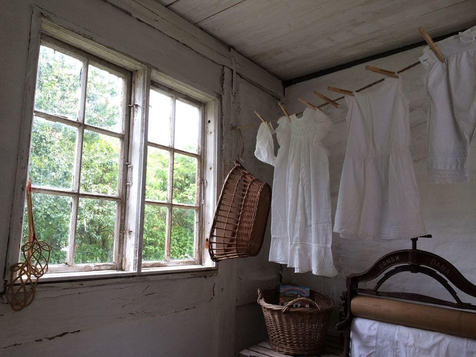 Alte Waschküche Absence Curtain Day Denmark Growth Laundry Nature No People Old Waschküche Window