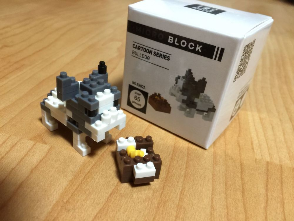Mini Block Micro Block Block Bulldog Nanoblocks Nanoblock