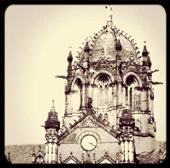 Bombay's iconic building. The Victoria Terminus