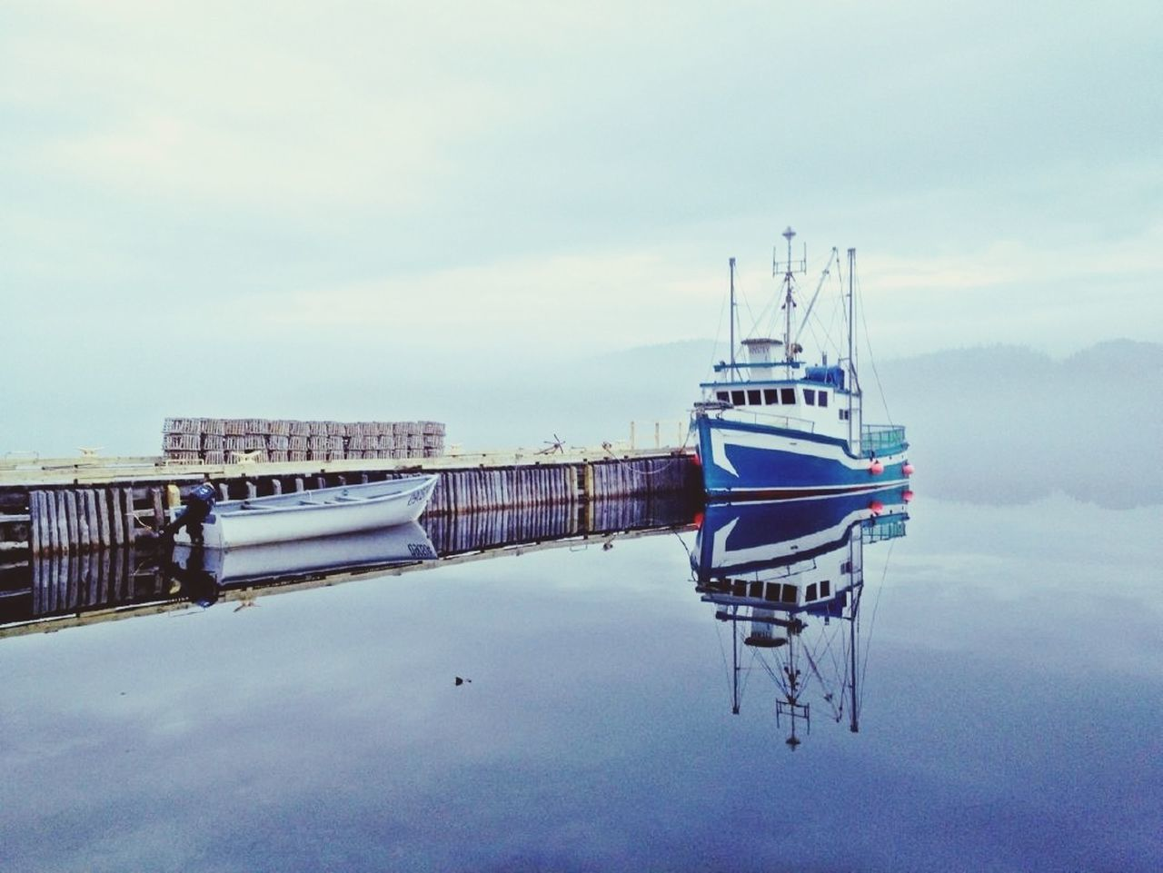 On The Fog - iPhone 4S - Newfoundland - Canada AMPt_community The Illusionist - 2014 EyeEm Awards IPhoneography Time To Reflect