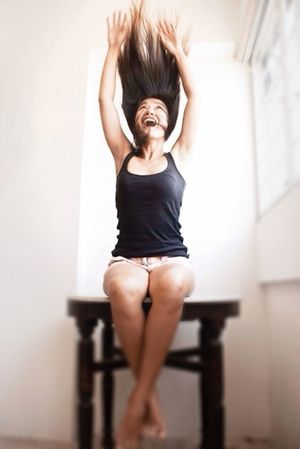 Girls Just Wanna Have Fun :) on a Saturday Afternoon ... Thats Me  Hanging Around :*