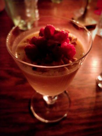 Raspberry Pannacotta.. Pannacotta Dessert Raspberry Food Sweets Sweet Food Cream Drinking Glass Table Refreshment Red Food Stories