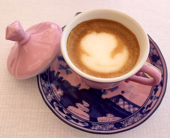 Travel Ladispoli Cofee Time IPhone Iphonephotography IPhoneography Italy Italian Breakfast Drinking Coffee La Posta Vecchia Breakfast Cappuccino Cappuccino Cup Pink Color Food Drink Moment Of Silence Moment Of Reflection Millennial Pink Visual Feast Breathing Space Your Ticket To Europe