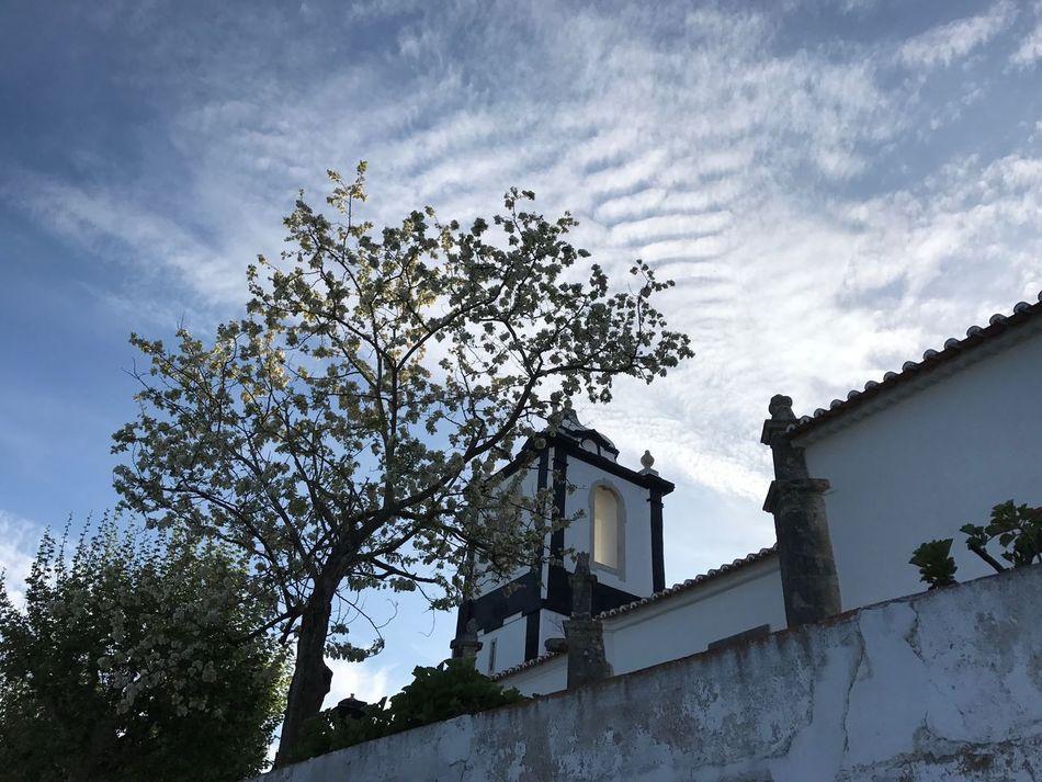 Portugal Óbidos  Dusk Sky