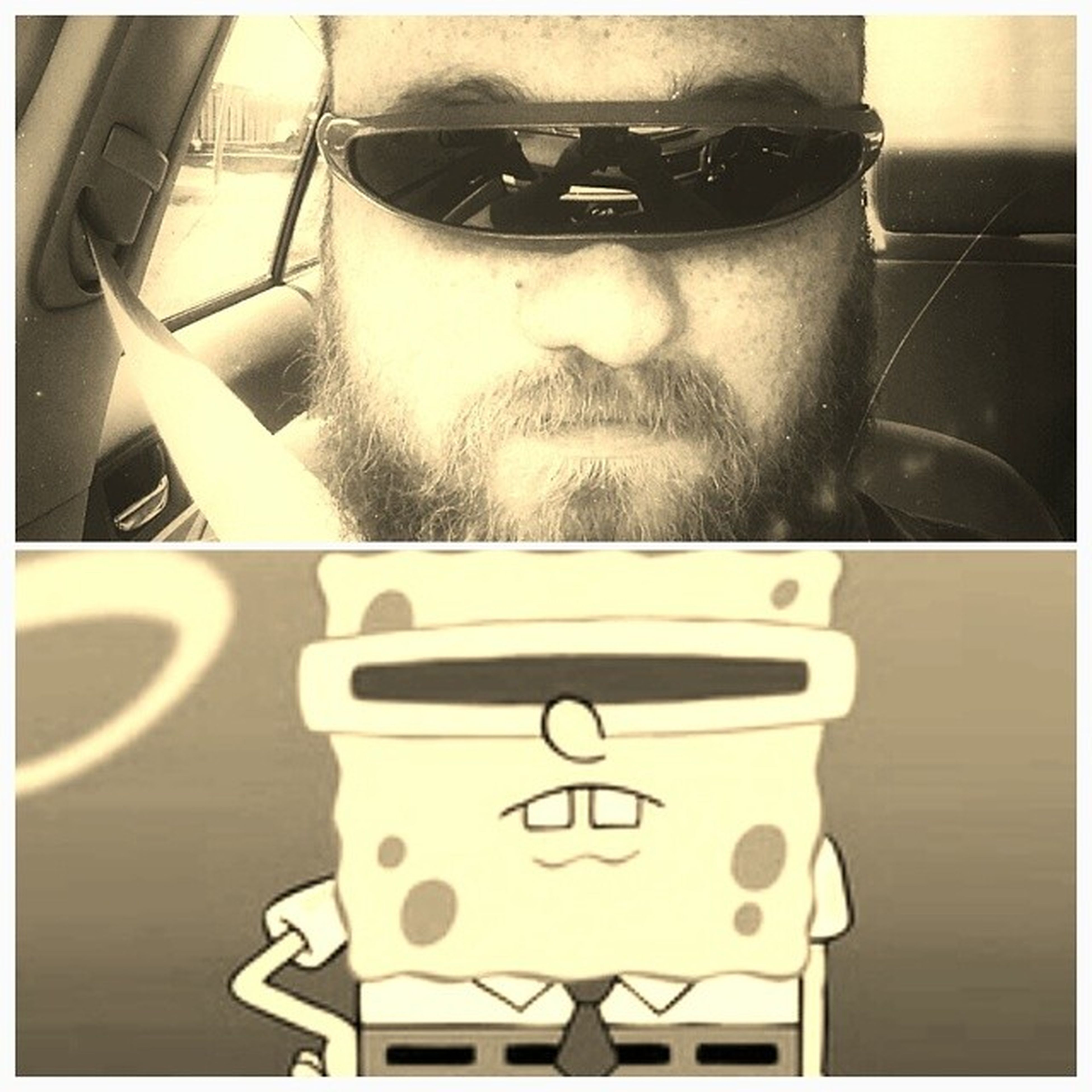 I know everything is think star trek or x-men but the truth is i got these because of Spongebob Radglasses Madhipster Angeryhipster