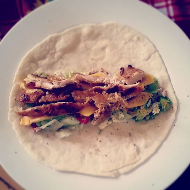 Wrap Cheese Chicken Tomatoes Lettuce Avo Avocado Namibia Africa Home Gooddays Goodfood Healthy Lowcarbs