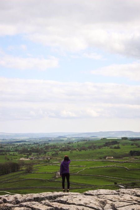 That's Me! Enjoying The View Enjoying Life Taking It All In Peaceful Scenic Scenic View Climbing Walking Hiking My Hobby Favourite Places Malham Malham Cove Yorkshire Yorkshire Dales Dales Country Countryside Landscape