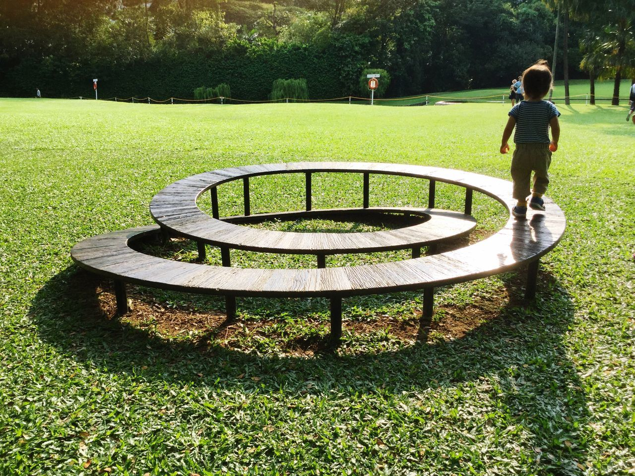 Never ending journey Grass Park - Man Made Space Day Outdoors One Person Growth Tranquil Scene Beauty In Nature Child Childhood Children Exploration Explorationofspace Infinity ∞ Infinity Infinity Loop Future Bright Future Bright Future Ahead