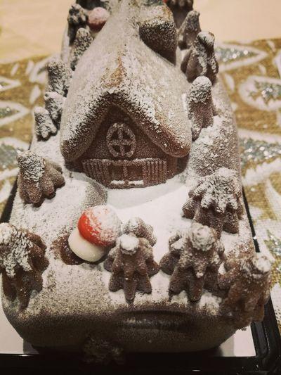 Buche glacée de Noel