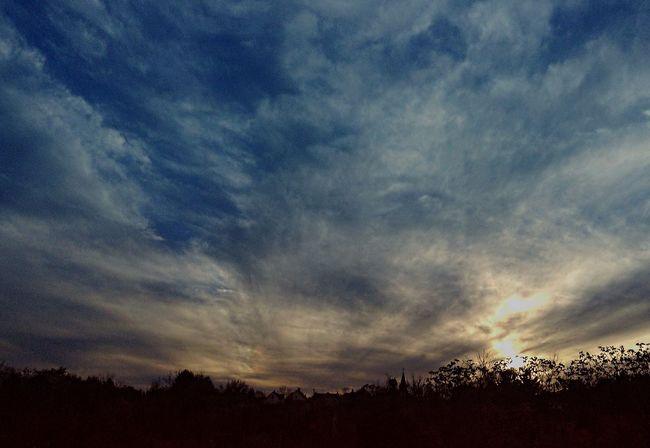 Sky And Clouds Pennsylvania IPadography Sky Porn Sunset Rural America