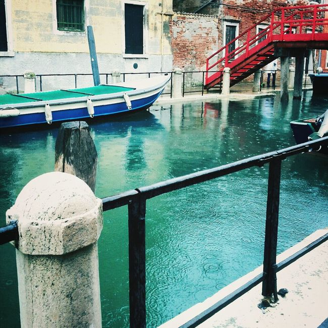 Sometimes,just a rainy day to find yourself Venice Highwater Iuav Rainy Days