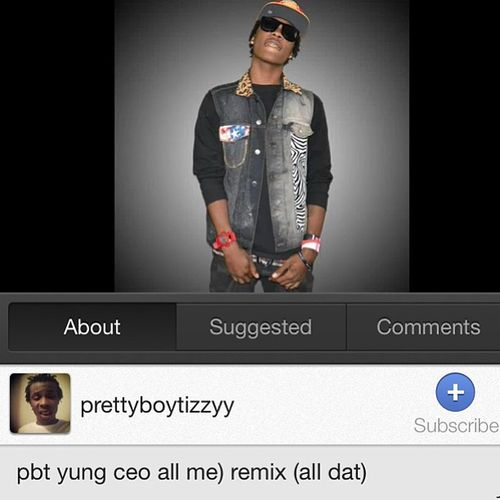 Just make a remix to drake all me so go on my link listen then subscribe to my Channel not now bt RITE NOW!!!!! Teampbt Newhouston Datnigga Yungniggamusic