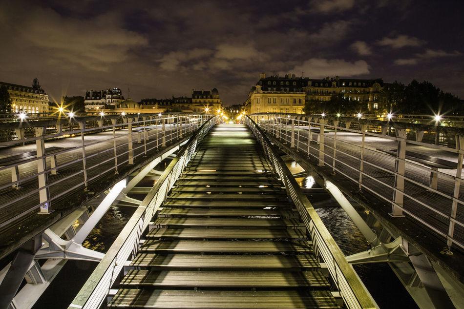 Beautiful stock photos of paris, transportation, rail transportation, illuminated, railroad track