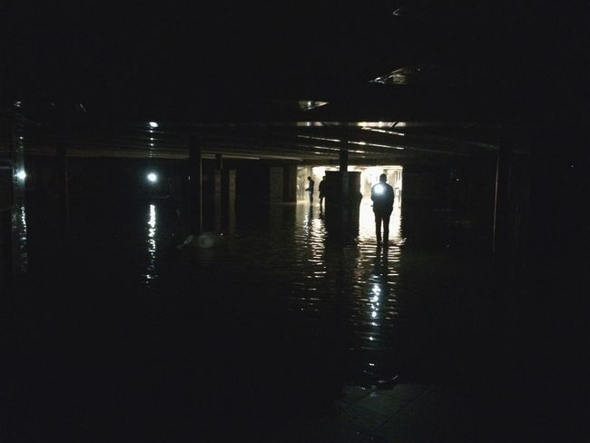 Flood | Subway | Power Outage | Post Apocalyptic | Darkness And Light | Dark | Light And Shadow | Shadow