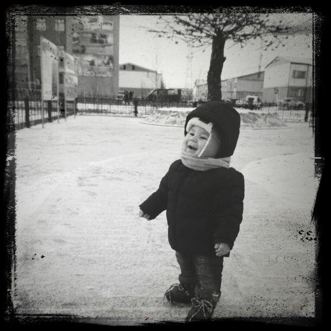 Радуемся снегу