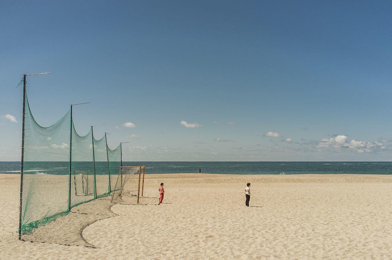 Beautiful stock photos of soccer, Beach, Boys, Children, Day