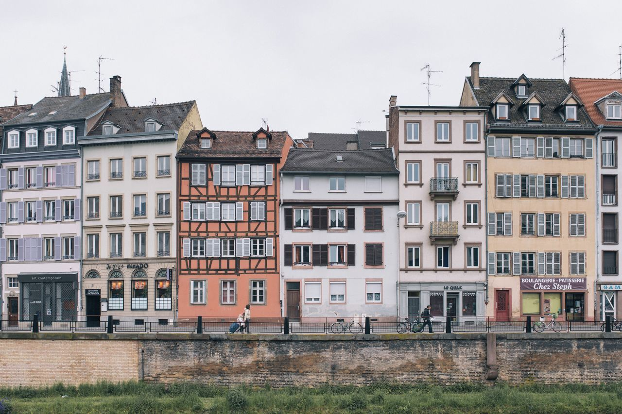 Neighborhood Map Strasbourg Architecture Architecture Built Structure Building Exterior House Architecture_collection Vacations Vacation Colors Colorful City City Life Cityscape Cityscapes
