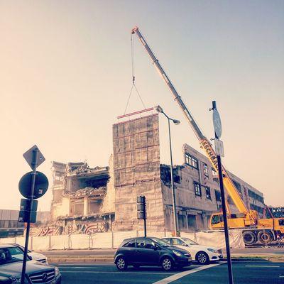 Mannheim Demolition Post Office Abriss