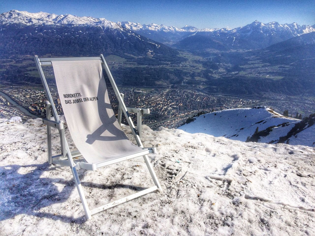 Sky Snow Sunchair Mountain Cold Temperature Beauty In Nature Tranquil Scene Nature Winter Tranquility Scenics Mountain Range No People Day Outdoors Landscape Chilling The Secret Spaces