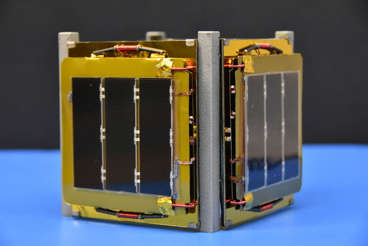 Close Up Technology Close-up CubeSat Day Nanosatellites No People Satellites Solar Panels Space And Astronomy Space Exploration Technology Close Up Technology