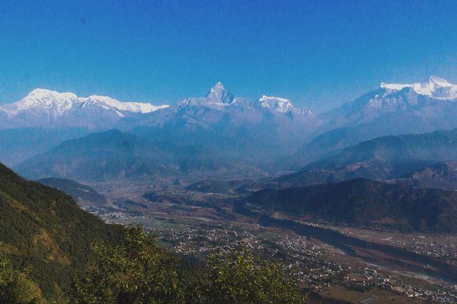 Annapuna Mountain Range as seen from Sarangkot Taking Photos Enjoying Life Wanderlust Mountains Amazing View Traveling