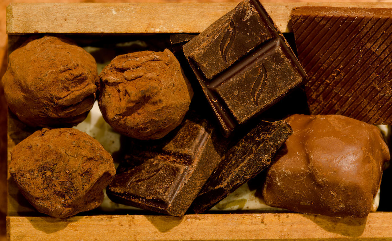 Beautiful stock photos of chocolate, Brown, Chocolate, Close-Up, Dessert