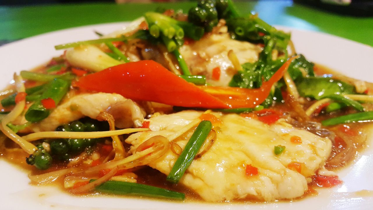Spicy Thai Food Spicy Fried Fish