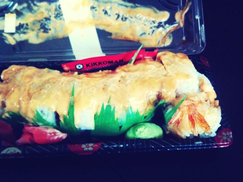 Eating Sushi