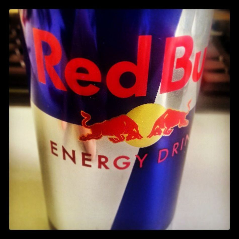 RedBull Energy Drink Can office helps me to survive f**king mondays... ?