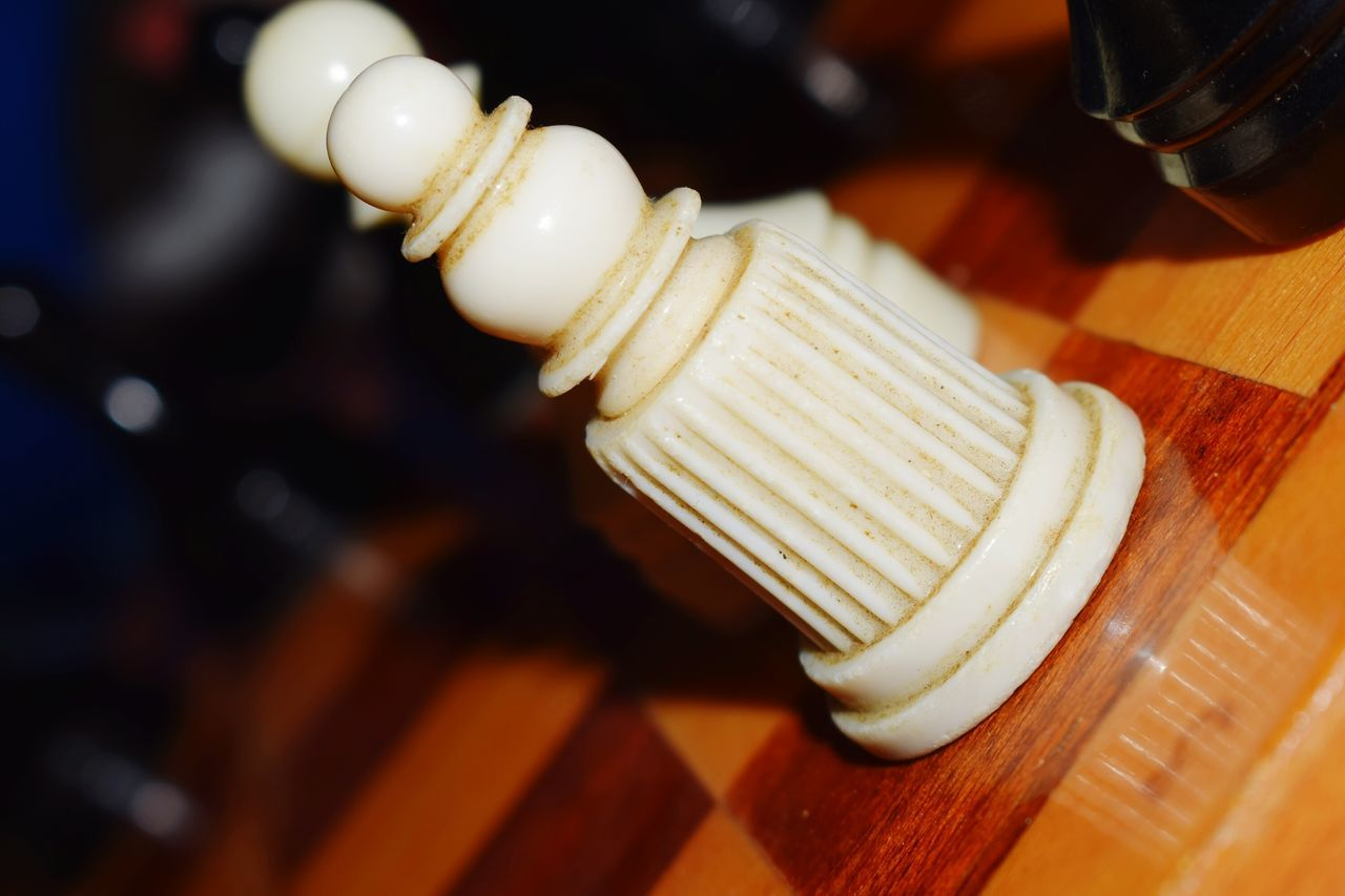 Indoors  No People Close-up Day Art Chess Chess Board Chess Piece Chess Game Chess Set Figure Sport Macro Photography Game White Wooden Wood Ivory Inspiration Is Every Where Design Soviet Retro