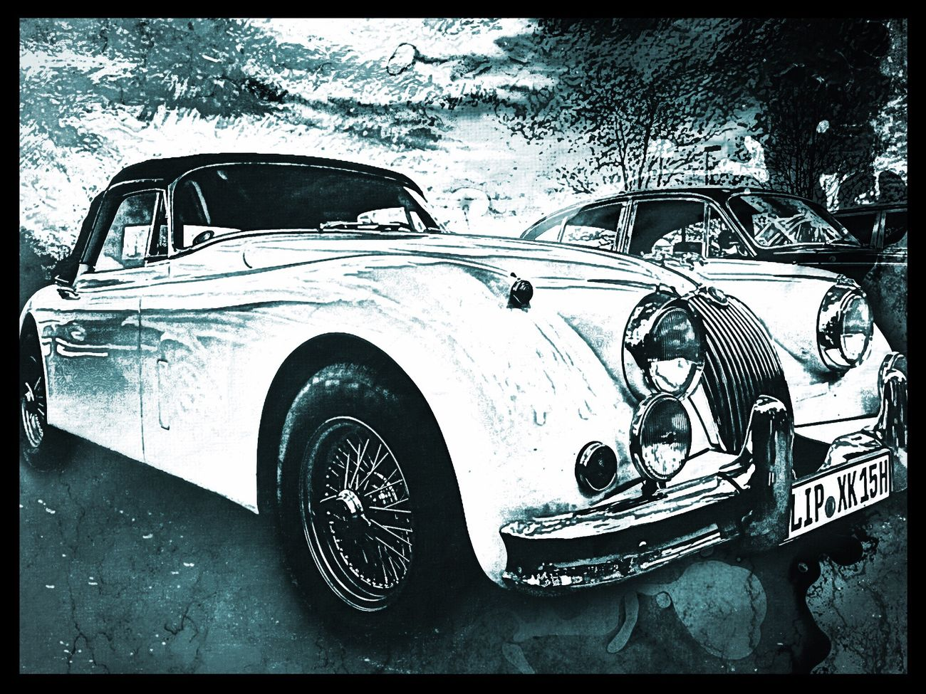 JAGUAR Art, Drawing, Creativity Car Outdoors Art Ride Or Die Garage Car Collection Walking Around Streetphotography The Drive Luxxxs Land Vehicle EyeEm Gallery Tranquil Scene Hello World Old-fashioned Cabrio Oldtimer Mode Of Transport Transportation No People Day