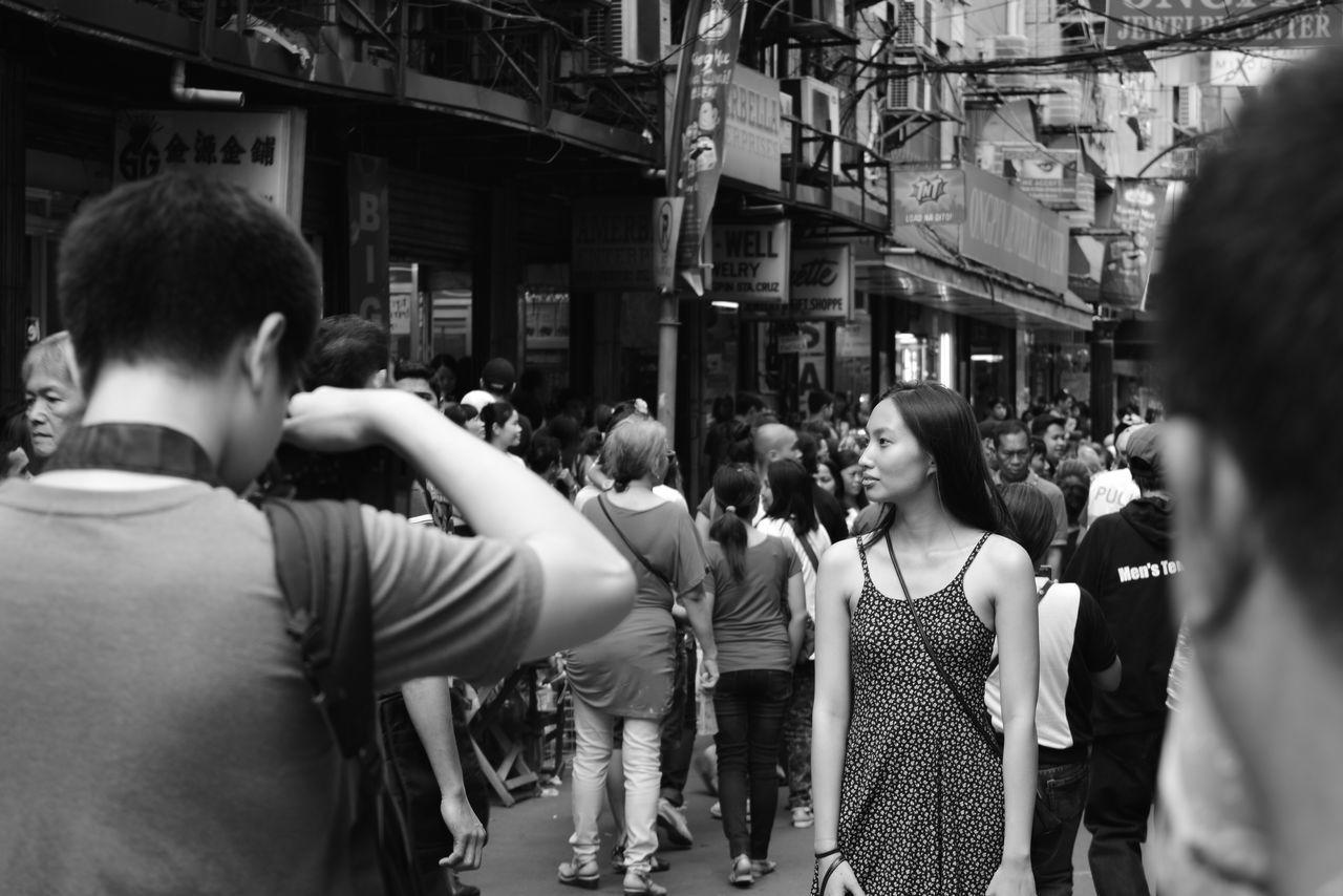 """Celebrating Chinese New Year"" #blackandwhite #citylife #DayDreamer #girl #human #humaninterest #streetlife #streetphotography"