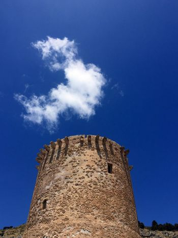 Smoke The Week On EyeEm Ancient Architecture Blue Blue Sky Building Exterior Built Structure Cloud - Sky Day Low Angle View Monde Nature Outdoors Sky Smoke - Physical Structure Tower Travel Destinations