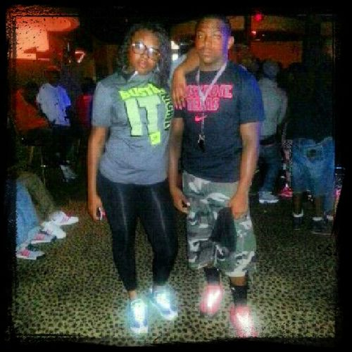 me and my sister last night at mansion!!