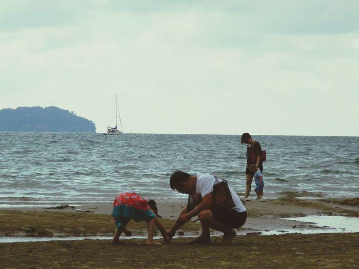 Mydaphotography JalangMenujuTuhan Sabahan Photography Streetphotography Nikon_photography Love To Take Photos ❤ Love Nature Kidsphotography Funtime Sea And Sky Juniorphotography