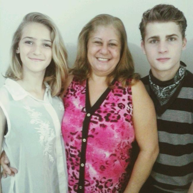 My sister, my gramma and I .. Beautiful Family