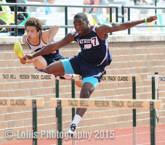 South Carolina State Track And Field Championships on May 16, 2015. 110meter Hurdles Southcarolina Track And Field Sports Photography