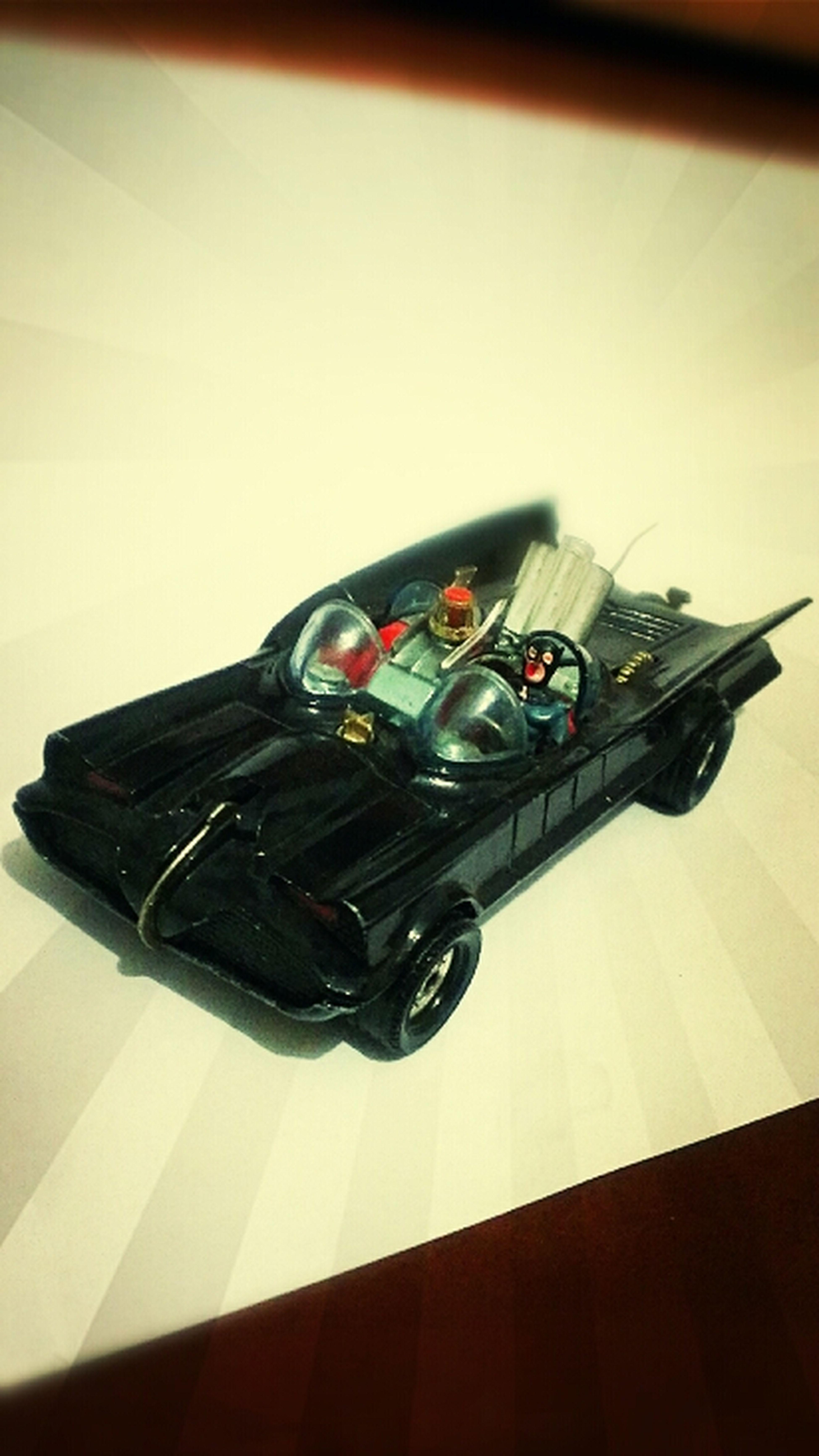 Batman Batmobile Waiting In The Batmobile