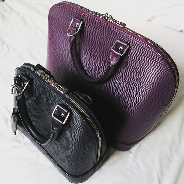 Alma Sisters 💕 Did you see my recent 🆕🆕 5 Least Used Luxury Items Video 🎬🎬🎬 yet? Louisvuitton Almabb Almapm Epi YouTubeChannel FashionablyAmy youtube youtuber